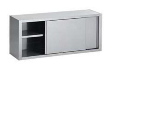 Wandkast - RVS - 1800x400x600