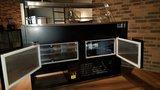 Multinox koeltoonbank zwart - 2940 mm x 1060 mm _