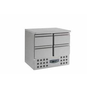 Multinox koelwerkbank 4 lades
