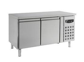 Bakkerij koelwerkbank 2 deuren - standard line