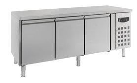 Bakkerij koelwerkbank 3 deuren - standard line