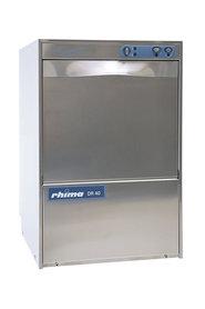 Rhima glazenspoelmachine DR 40S met ingebouwde waterontharder