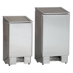 Afvalbak voetpedaal - 90 liter