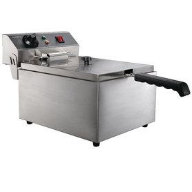 Elektrische tafel friteuse - 1 x 6 liter