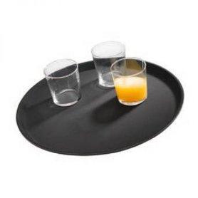 """Dienblad """"Gastro"""", Ø27,5 cm, zwart"""