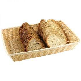 "Brood- en/of fruitmand ""Basic"", 41x29x7 cm"
