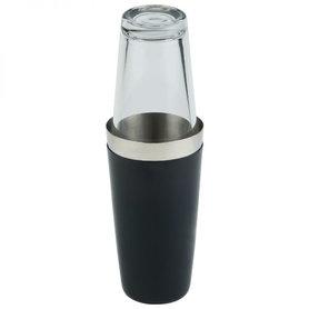 Boston shaker-set / 2-delig zwart