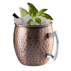 Cocktail beker 'Moscow' - hammered