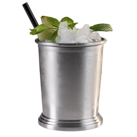 Cocktail beker 'Julep' - mat RVS