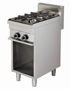Kooktafel - Gasfornuis 2 pits