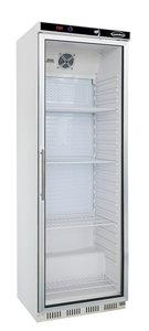 Glasdeur koelkast - 350 liter