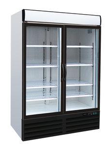 Koelkast met 2 glasdeuren - 1079 liter
