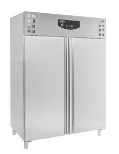 RVS koelkast - 1410 liter