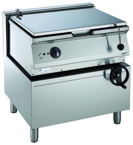Elektrische kantelbare braadslede - 700 pro kooklijn