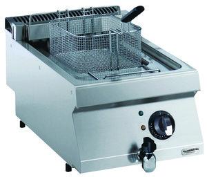 Elektrische friteuse 2 x 5 liter - 700 pro kooklijn