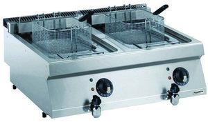 Elektrische friteuse 2 x 12 liter - 700 pro kooklijn