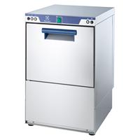 Electrolux glazenspoelmachine met zeep-en afvoerpomp en koud naspoelen