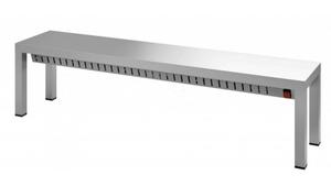 Verwarmde etagere 1 niveau - 1200 mm