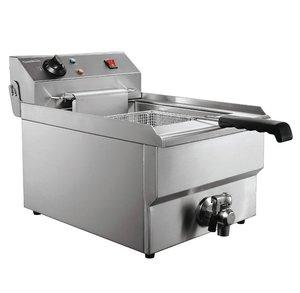 Elektrische tafel friteuse - 1 x 8 liter