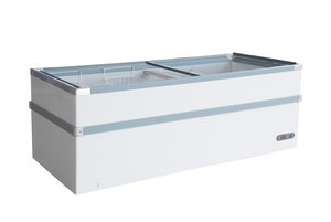 Vrieskist glasdeksel - 980 liter
