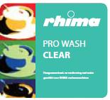 Rhima pro wash Clear vaatwasmiddel