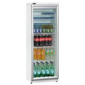 Bartscher flessenkoelkast 320 LN met glasdeur