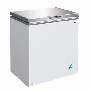 Vrieskist RVS - 148 liter
