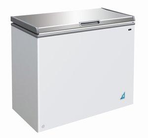 Vrieskist RVS - 201 liter
