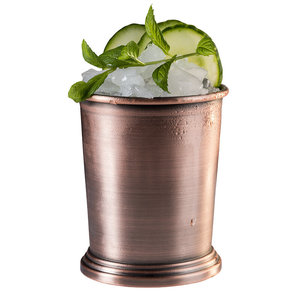 Cocktail beker 'Julep' - mat koper