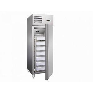 Vis koelkast met luchtventilatie model GN 600 TNF
