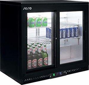 Bar koelkast met schuifdeuren Model SC 250 SD