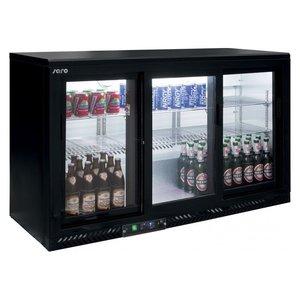 Bar koelkast met schuifdeuren model SC 316 SD