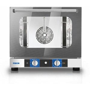 Hete lucht oven met vocht Model PF 6004