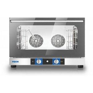 Hete lucht oven met vocht Model PF 8004