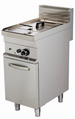Friteuse gas 1 pan 10 liter
