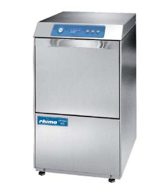 Rhima glazenspoelmachine/voorlader Optima 400 PLUS