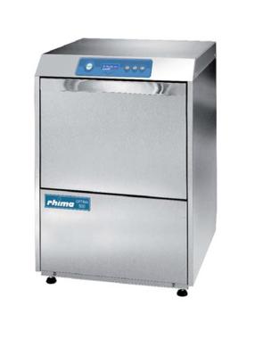 Rhima glazenspoelmachine / voorlader Optima 500