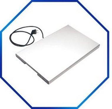 Warmhoudplaat aluminium 1/1 GN