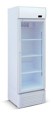 Glasdeur koelkast - wit