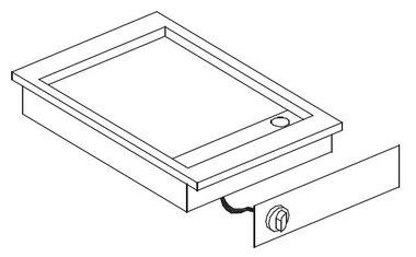 Drop-in elektrische bakplaat - 400 V