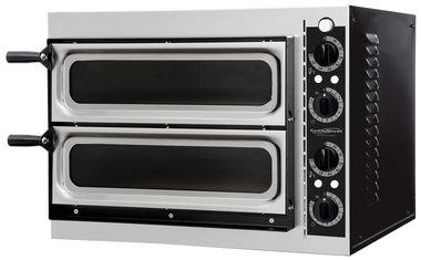 Elektrische pizza oven - 2 x 1 pizza Ø32 cm