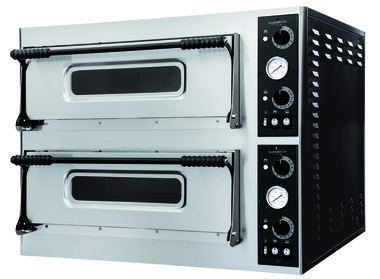 Elektrische pizza oven - 2 x 4 pizza's Ø32 cm