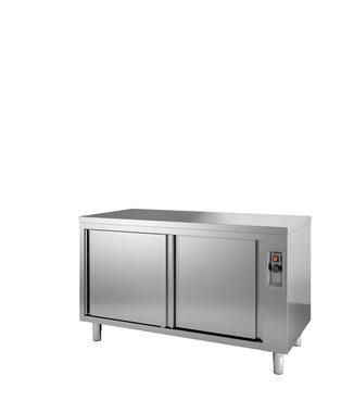 Doorgeef warmhoudkast - 1600 x 600 mm