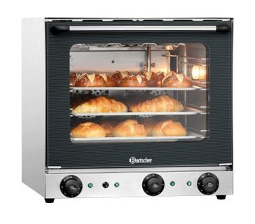 Bartscher hetelucht oven AT120 met grill en vochtinjectie