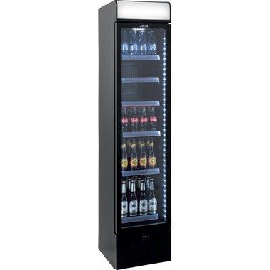 Extra smalle koelkast met luchtcirculatie model DK 134 zwart