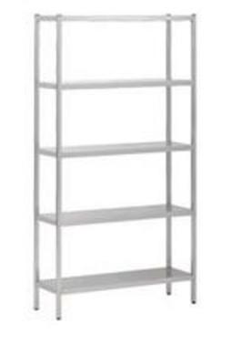 Stelling - 5 etages - 2000 x 400 x 1800 mm