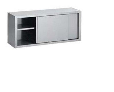 Wandkast - RVS - 1600 x 400 x 600 mm