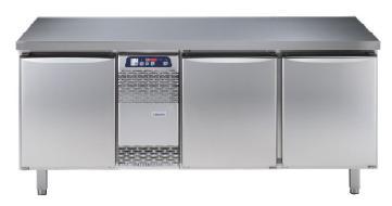 Electrolux koelwerkbank 3-deurs